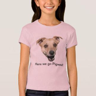 Here we go Pigward! T-Shirt