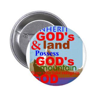 Herede la tierra de DIOS y posea los thos de la