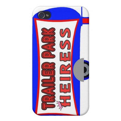 Heredera del parque de caravanas iPhone 4 protectores