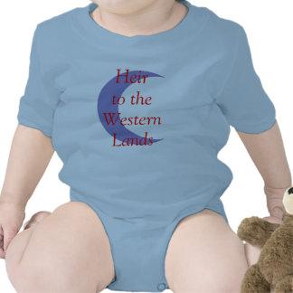 Heredero a las tierras occidentales traje de bebé