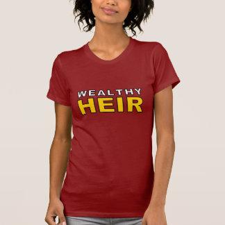 Heredero rico camiseta