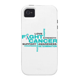 Hereditary Breast Cancer Fight Collage iPhone 4/4S Case