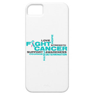 Hereditary Breast Cancer Fight Collage iPhone 5 Case