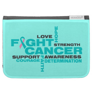 Hereditary Breast Cancer Fight Collage Kindle 3 Cover