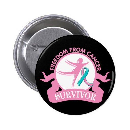 Hereditary Breast Cancer - Freedom From Cancer Button