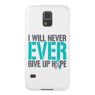 Hereditary Breast Cancer I Will Never Ever Give Up Galaxy S5 Cover