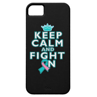 Hereditary Breast Cancer Keep Calm Fight On iPhone 5 Case