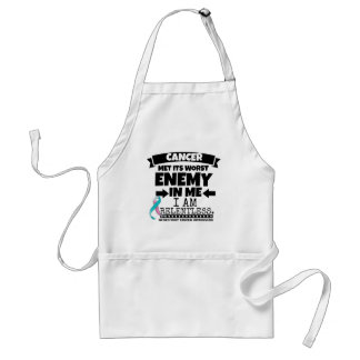 Hereditary Breast Cancer Met Its Worst Enemy in Me Adult Apron