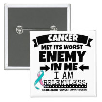 Hereditary Breast Cancer Met Its Worst Enemy in Me Button
