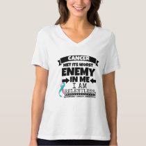 Hereditary Breast Cancer Met Its Worst Enemy in Me T-Shirt