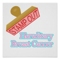 Hereditary Breast Cancer Poster