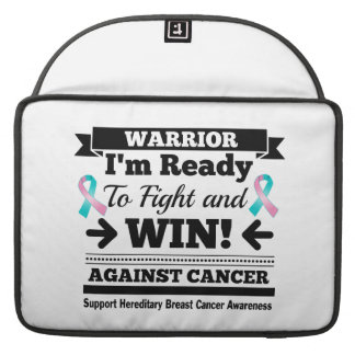 Hereditary Breast Cancer Ready To Fight and Win MacBook Pro Sleeve