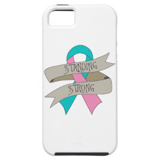 Hereditary Breast Cancer Standing Strong.png iPhone 5 Cover