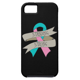 Hereditary Breast Cancer Standing Strong.png iPhone 5 Covers