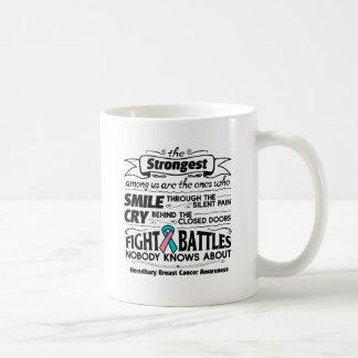 Hereditary Breast Cancer Strongest Among Us Coffee Mug