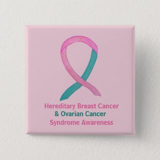 Hereditary Breast & Ovarian Cancer Awareness Pins