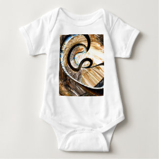 Hereditary Traits Abstract Baby Bodysuit