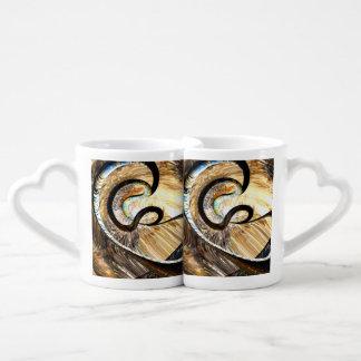 Hereditary Traits Abstract Coffee Mug Set