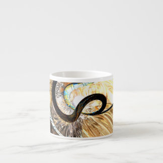 Hereditary Traits Abstract Espresso Cup