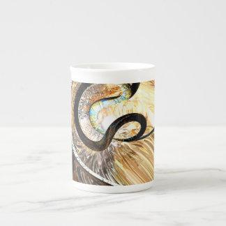 Hereditary Traits Abstract Tea Cup