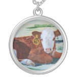 Hereford Calf Custom Necklace