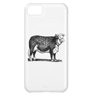Hereford Cow iPhone 5C Cases