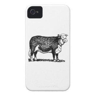 Hereford Cow iPhone 4 Case-Mate Case