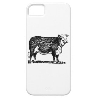 Hereford Cow iPhone 5 Cover