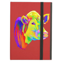 Hereford Cow in Colors Case For iPad Air