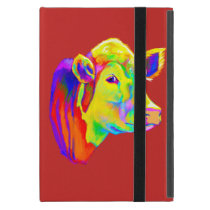 Hereford Cow in Colors Case For iPad Mini