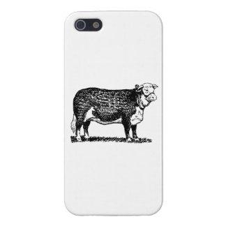 Hereford Cow Covers For iPhone 5