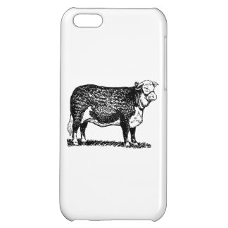 Hereford Cow iPhone 5C Case
