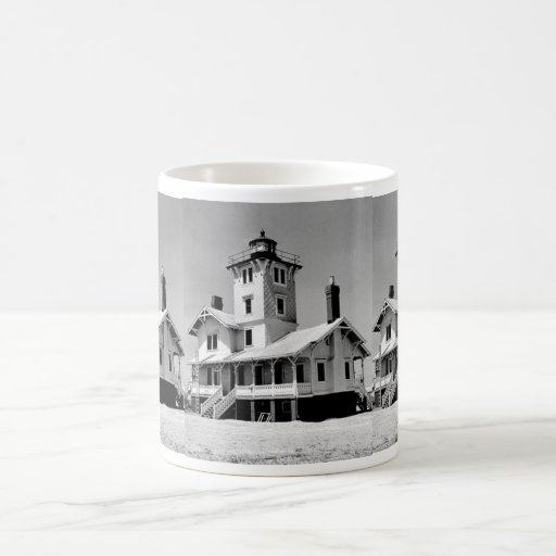 Hereford Inlet Lighthouse Coffee Mugs