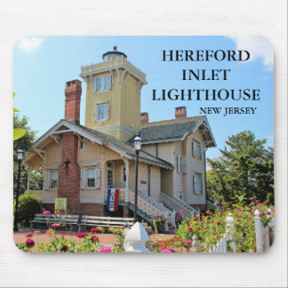 Hereford Inlet Lighthouse, New Jersey Mousepad
