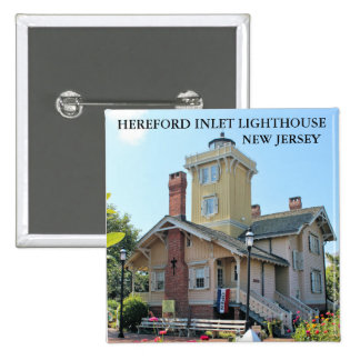 Hereford Inlet Lighthouse, New Jersey Pin