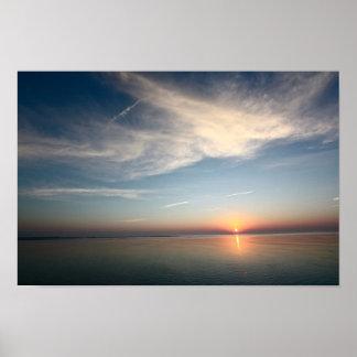 Hereford Inlet Sunrise Print