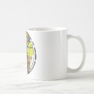 Hereford map stylized mug