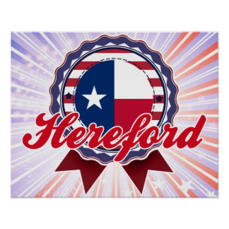 Hereford, TX Poster