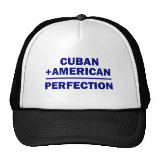 Herencia americana cubana gorras