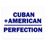 Herencia americana cubana postal