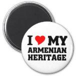 Herencia armenia imán de frigorifico