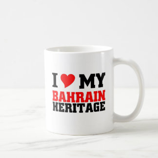Herencia de Bahrein Taza