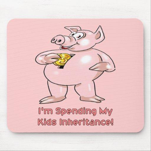 Herencia de los niños alfombrillas de ratón