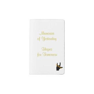 Herencia del cuaderno del personalizado del amor funda para libreta y libreta pequeña moleskine