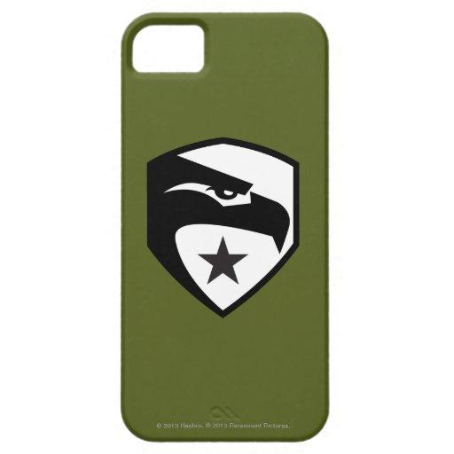Herencia Eagle negro iPhone 5 Case-Mate Carcasa