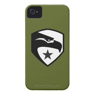 Herencia Eagle negro iPhone 4 Case-Mate Protector