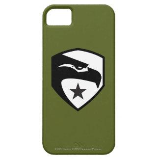 Herencia Eagle negro iPhone 5 Fundas