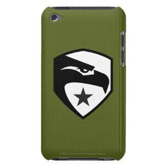 Herencia Eagle negro iPod Case-Mate Protector