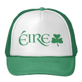 Herencia gaélica del irlandés del símbolo del gorras