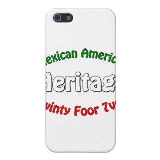 Herencia mexicana-americano iPhone 5 carcasas
